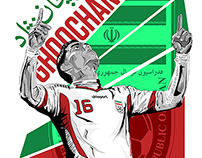 Iranian National Team Football Players
