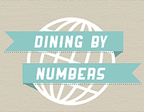 Dining by Numbers Infographic