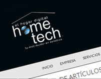 Hometech Colombia Website & Online Sotre