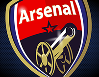 ARSENAL FC RE-LOGO + ANIMATION