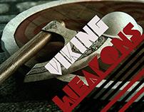 Viking Shield and Axe