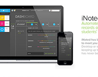 iNoted Mobile App - Brand Design