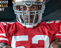 VIDEO | Rawlings | Patrick Willis  HMUA: Dawn Sutti