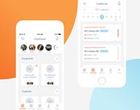 Business Flow - App design