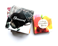Package design for Handarbeit im Melbtal, Organic soaps