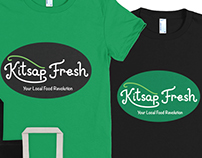 Kitsap Fresh Logo sample
