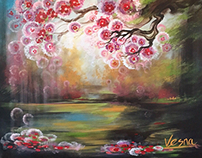 "Kingdom - 36""x48""x1.5"" Acrylic on Canvas"