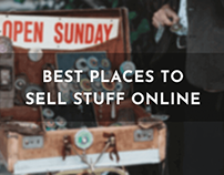 Best Places to Sell Your Stuff