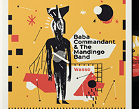 Baba Commandant & The Mandingo Band - Vinyl Cover