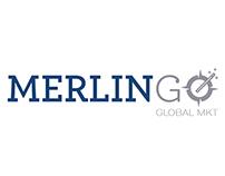 MERLINGO Global MKT Consulting Logo & Stationary