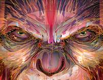 DAWN of the PLANET of the APES -Vector Tribute