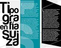 Tipografía Suiza