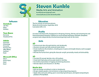 Resume and Business card