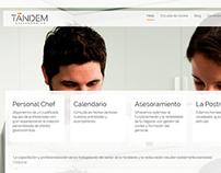 Web Tandem Gastronómico