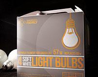 Western Family - Lightbulb Packaging