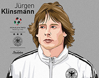 Jürgen Klinsmann German football legend