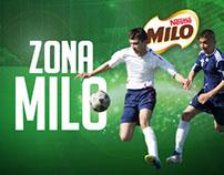 Zona Milo - Facebook App for Milo Nestlé