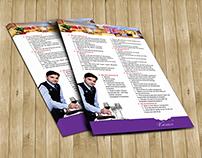 Leaflet - University of Finace Marketing