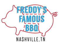 Logo/Menu for Freddy's Famous BBQ