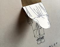 "Bow(japanese""ojigi"") card"