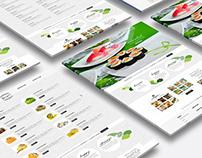 Banzai Sushi Asian Cuisine Desktop Web
