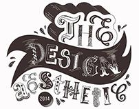 'The Design Aesthetic' Hand Lettering Poster