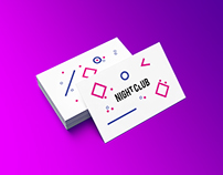 Business Card Mock-up / Night club