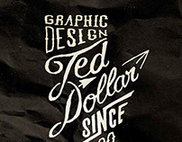 Calligram Ted Dollar