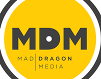 Mad Dragon Records Branding