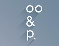 oo&p. design studio branding