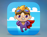 Hero Bob Game Icon