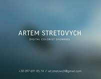 Colorist Showreel 2014