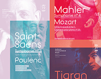 Auditorium Orchestre National de Lyon - Poster design