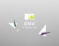 "MTV EMA ""paper craft"""