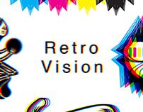 Retro Vision - T-shirts
