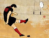 Illustrations, Georgian Rugby