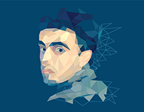 Low-Poly Self Portrait