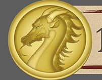 Bitcoin Casino Game - User Interface