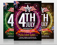 4th July Indepedent Day Flyer