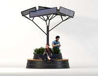 MÓDULO DE ENERGÍA SOLAR PARA ESPACIO PÚBLICO