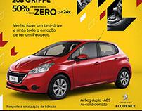 Campanha de Julho Peugeot Florence