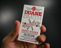 Duane Smith, Independent Graphic Designer