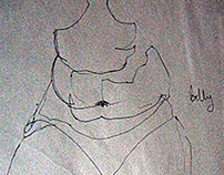 Life Drawing Sketchbook