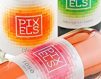 PIXELS wines by the Labelmaker