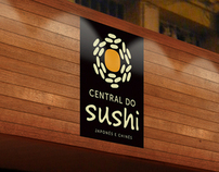 Identidade Visual | Central do Sushi