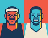 LeBron vs. Durant