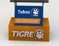 Expositor de tubos TIGRE