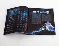 Wall-E InfoGraph & Board Game