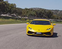 Gear Patrol : Proving the Lamborghini Huracán at Ascari