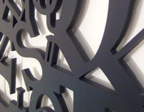 Dimensional Typographic Wall Art